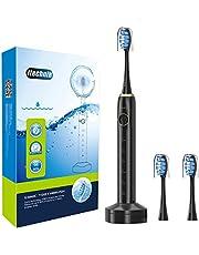 ITECHNIK 電動歯ブラシ ソニック 音波式歯ブラシ USB感応式充電 5段階モード 2分オートタイマー機能搭載 IPX7防水 3本替えブラシ付き