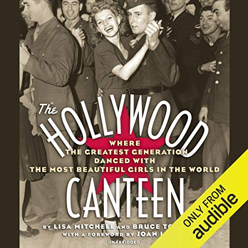The Hollywood Canteen audiobook cover art