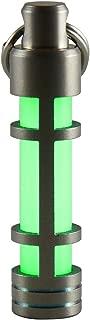 TEC Accessories [Next Generation] EMBRITE Glow Fob: Precision Glow in the Dark Keychain - Titanium