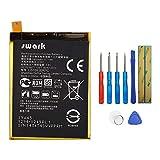 Swark - Batería LIS1593ERPC para Sony Xperia Z5 E6603 E6653, incluye herramientas