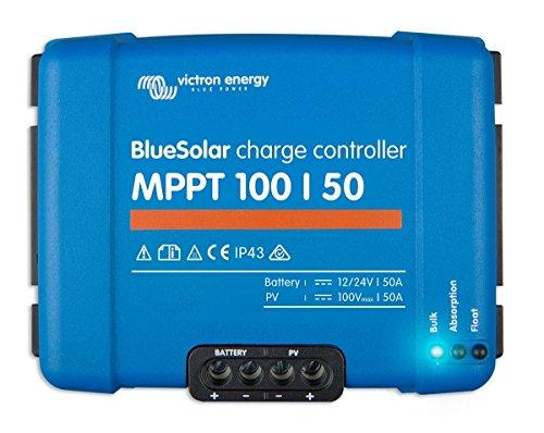 MPPT 100/50regulador de carga solar Victron Energy Blues olar de energyxxl