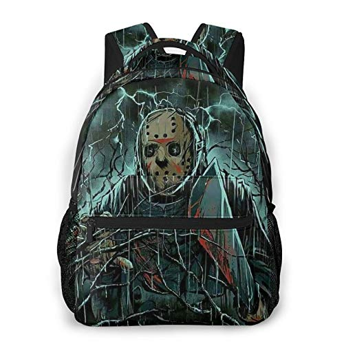Fri-Day The 13th Fashion Casual Backpack Light Travel Backpack Student School Bag