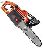 BLACK+DECKER CS1835-GB Corded Chainsaw, 1800 W , Orange