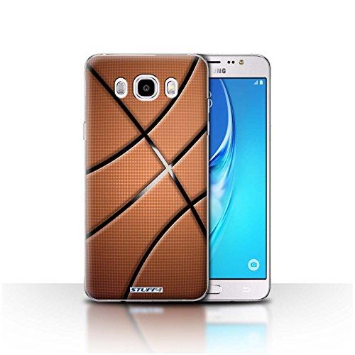 Stuff4 Hülle/Case für Samsung Galaxy J5 2016 / Basketball Muster/Sport Bälle/Ball Kollektion