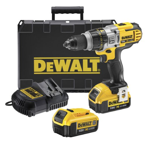 DCD985M2-GB Dewalt Xrp Combi Hammer Drill 18V with 2X 4.0ah Li-ion Batteries