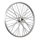 Taylor-Wheels 26 Zoll Vorderrad Büchel Alufelge/Shimano Nabendynamo DH-C3000-3N - Silber