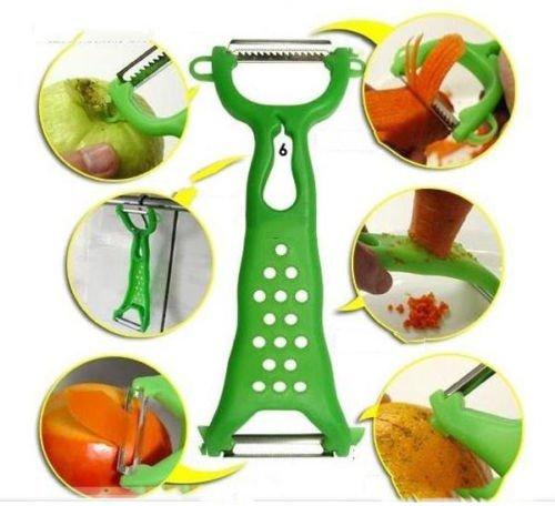 Herramientas Bestim 1x cocina pelador de frutas Peeler Vegetable Slicer lsmaa