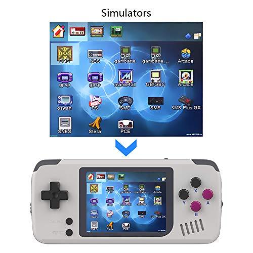 LFYPSM Overlord Kid Sistema Open Source Mi Mioo Console di Gioco Portatile FC Gba MD Arcade
