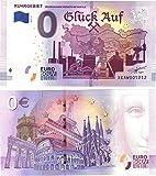 0 Euro Schein  Glück Auf  Ruhrgebiet Deutschlands grösste Metropole - Null € 2019 -