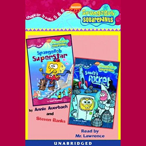 SpongeBob SquarePants audiobook cover art