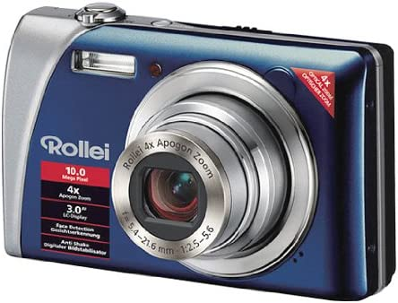 Rollei Flexline 140 Digitalkamera 3 Zoll Blau Kamera