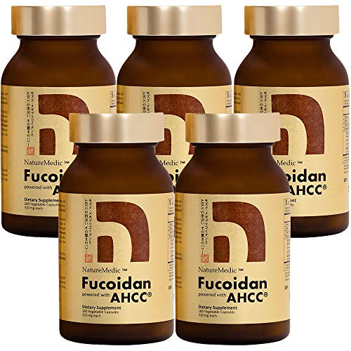 NatureMedic Fucoidan Powered with AHCC® Brown Seaweed Immunity Supplement...