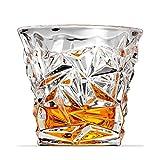 ASDFGH Bicchiere di Whisky Whisky Bicchieri di Vino 300ml Whisky Tazza di Vetro della Birra Bere Succo Tazze di Acqua Party Bar Club Bicchieri for i Compleanni di Natale (Size : 3 PCS)