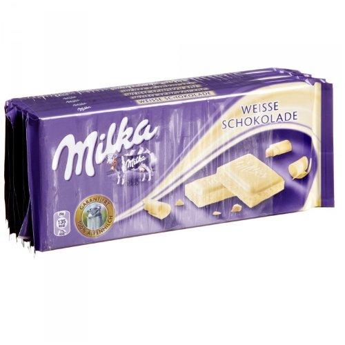 Milka Weisse Schokolade 5x100g