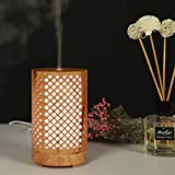 Pequeño humidificador, mesa hueca multi-olomadifuser, hogar ambiente colorido luz de noche humidificador de luchzer aromático, 100 ml aromadifuser, pequeña luz nocturna aromática duzzer lámpara humidi