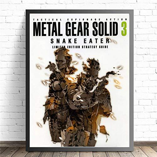 ZHINING Metal Gear Solid MGS Póster de...