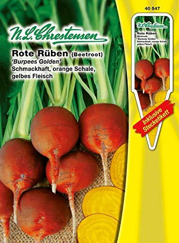 N.L. Chrestensen 40547 Rote Rübe Rüben Burpee Golden (Rote Rüben Samen)