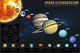 1art1 Das Sonnensystem Poster 91 x 61 cm | Unser