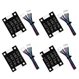 Twotrees TL Smoother Addon Module for Pattern Elimination Motor Clipping Filter 3D Printer Stepper Motor Drivers (Pack of 4 pcs)…