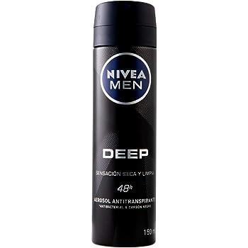 Nivea Men Antitranspirante Deep Spray, 150 ml