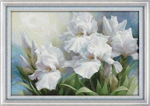 Joy Sunday Cross Stitch Ranking TOP15 Discount is also underway Kits Flower 11 Style 14CT Iris Counted