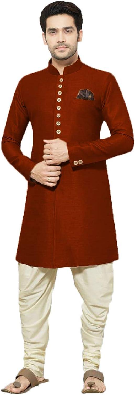 daindiashop-USA Exclusive Men Indian High quality Jodhpuri safety Partywear Sherwani