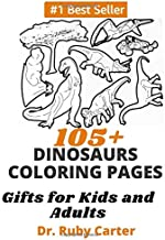 105+ Dinosaurs Coloring Pages: Gifts for kids and adults
