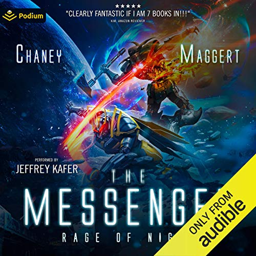 Rage of Night Audiobook By J. N. Chaney, Terry Maggert cover art