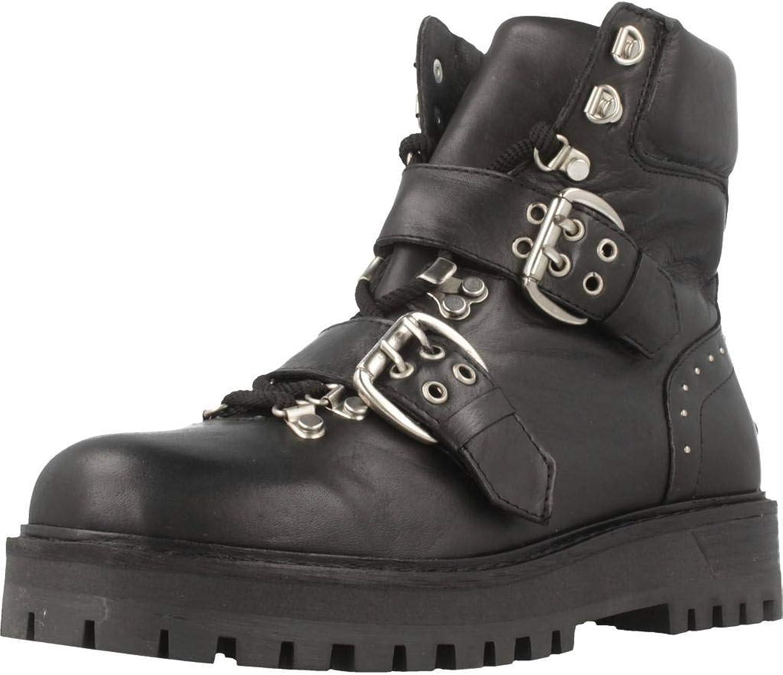 ALPE Stiefelleten Stiefel Damen, Farbe Schwarz, Marke, Modell Stiefelleten Stiefel Damen 3907 08 Schwarz