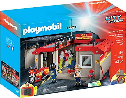 Playmobil 5663 Estación de Bomberos Maletín