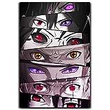 DRAGON VINES Anime Krankheit Naruto Eyes Poster beliebte