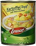 Erasco Kartoffel-Topf mit Würstchen, 3er Pack (3 x 800 g Dose)