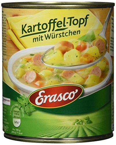 Erasco Kartoffel-Topf mit Würstchen (1 x 800 g Dose)