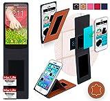 Hülle für LG G2 Mini LTE Tasche Cover Case Bumper | Braun