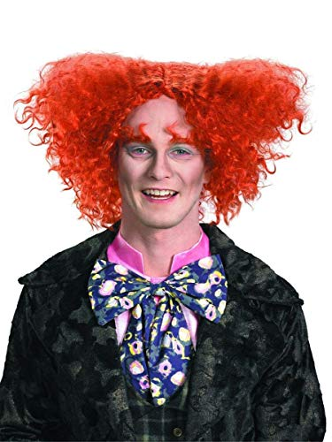 Disguise Men's Mad Hatter Wig,Multi,One Size- Adult