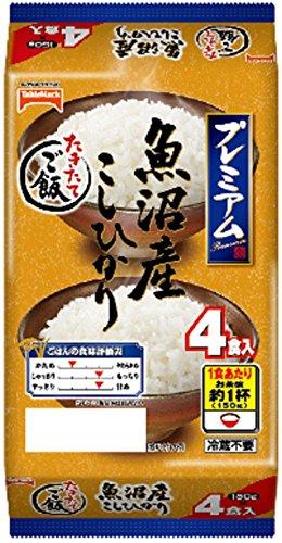 テーブルマーク たきたてご飯 魚沼産こしひかり (150g)4P
