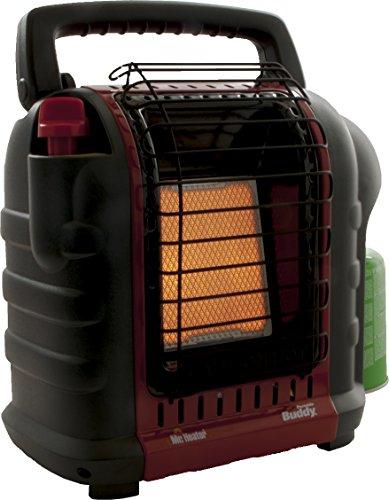 Mr. Heater Portable Buddy Gasheizung inkl. Adapter für Gaskartuschen mit 7/16-Gewinde; - 5