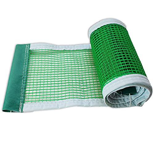 OUUUKL 2 Pezzi Reti da Ping Pong, Scomparsa Rete da Ping-Pong 180 * 15 cm Rete da Ping Pong Portatile con Dimensioni Regolabili per La Palestra della Scuola (Nero/Verde/Blu)