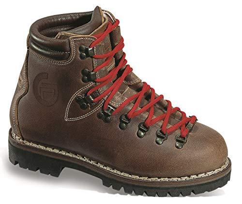 GRONELL 'STELVIO' - Scarponcini da trekking fatti a mano in pelle, G.140/01, Marrone anticato., UK9.5
