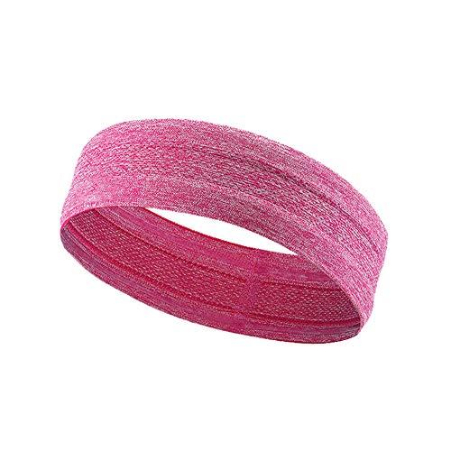 LanLan Elastische haarband voor dames, voor sport, yoga, hardlopen, voetbal, volleybal, tennis, training
