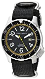 Momentum Men's Quartz Stainless Steel and Nylon Casual Watch, Color:Black (Model: 1M-DV74Y7B)