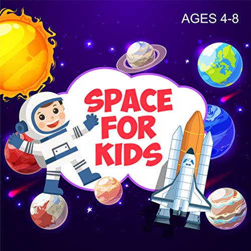 Space for kids ages 4-8: I spy solar system for babies with my first book of planets. (English Edition)