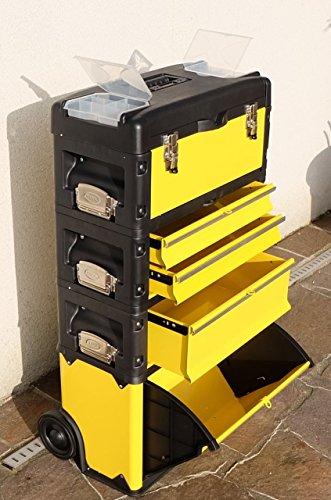 Metall Werkzeugtrolley Werkzeugkasten Werkstattwagen XXL Type B305A-D von AS-S