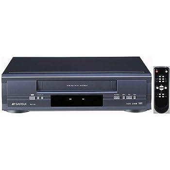 SANSUI 再生専用ビデオデッキ VHSビデオプレーヤー RVP-100