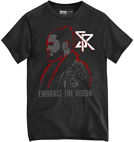 new arrival WWE popular Seth 2021 Rollins Embrace The Vision Authentic T-Shirt online sale