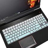 MUBUY Keyboard Cover Skin Fit Lenovo Legion 15.6' Y520 Y530 Y540 Y545 Y720 R720 Y7000 Y7000P 17.3' Legion Y730 Y740 Gaming Laptop -Mint Green
