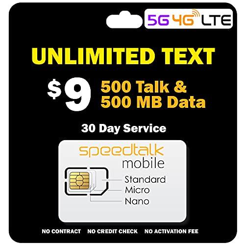 SpeedTalk Mobile $9/Month - Unlimit…