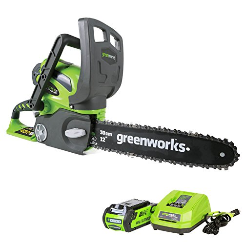 Greenworks 12-Inch Cordless Entry Level Chainsaw