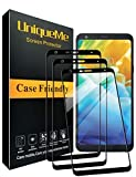 [3 PACK] INGLE Compatible With LG Stylo 4 / LG Stylus 4 Screen Protector,Full Coverage [ Japan Tempered Glass ] Screen Protector Film Edge to Edge Protection For LG STYLO 4 / LG STYLUS 4