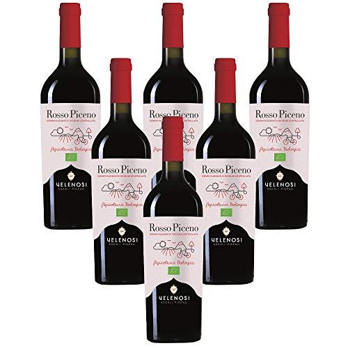 Rosso Piceno DOC vino biologico Velenosi (6 bottiglie 75 cl.)